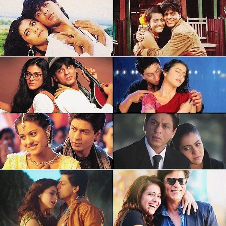 Shahrukh Khan and Kajol movies 😍❤ bollywood couple