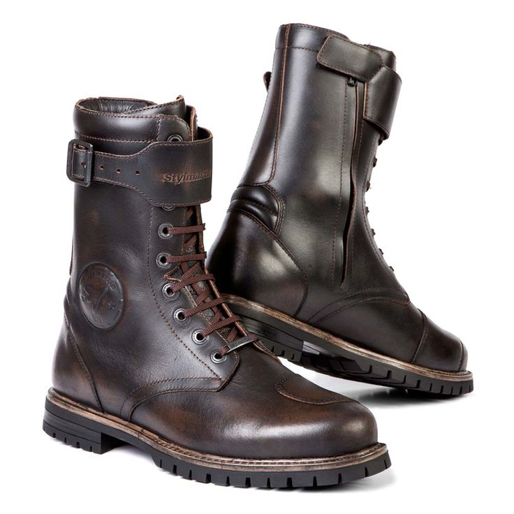 Stylmartin Rocket Motorcycle Boots - Brown | Motorcycle Boots | FREE UK delivery - The Cafe Racer