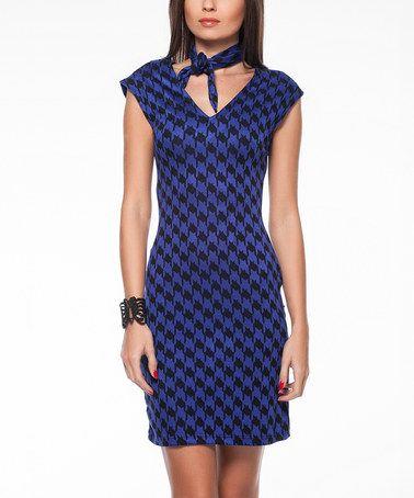 Blue dress zulily year end