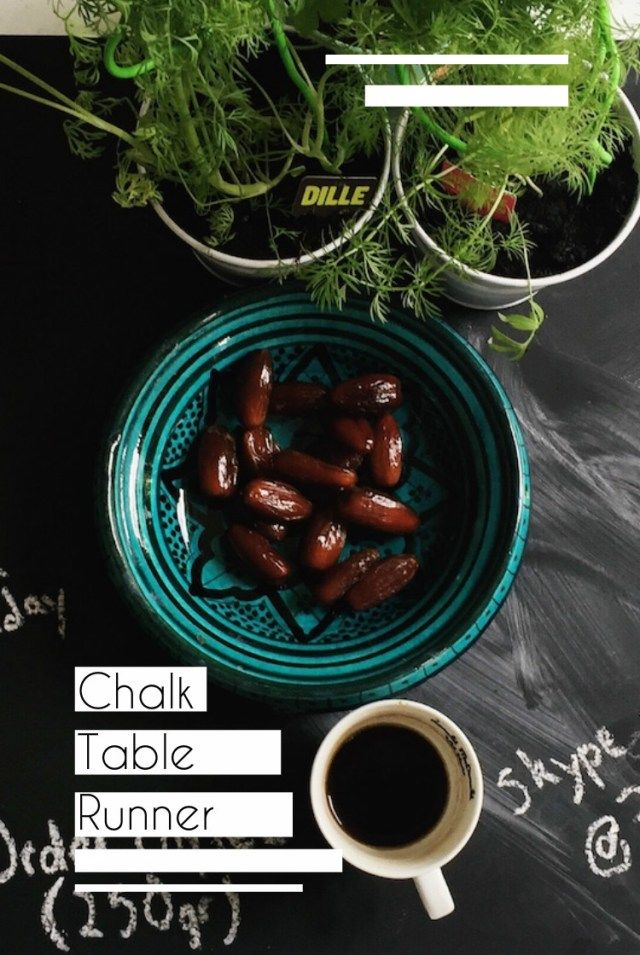 Table Therapy at dinner – how we keep dinner parties organised – We Should Chalk