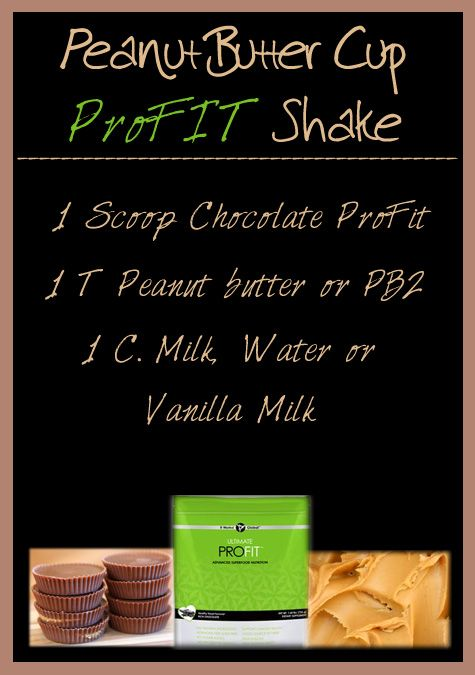 Try a rich, creamy, chocolaty Peanut Butter Cup packed with protein, superfoods and fiber ~ all in one glass!  It Works Chocolate Ultimate ProFit peanut butter cup shake gives you a sweet, decadent treat that will melt in your mouth.  My mouth is watering right now!  See more pins from #ShrinkThatBellyFat