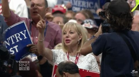 New trending GIF on Giphy. rnc republican national convention rnc 2016. Follow Me CooliPhone6Case on Twitter Facebook Google Instagram LinkedIn Blogger Tumblr Youtube
