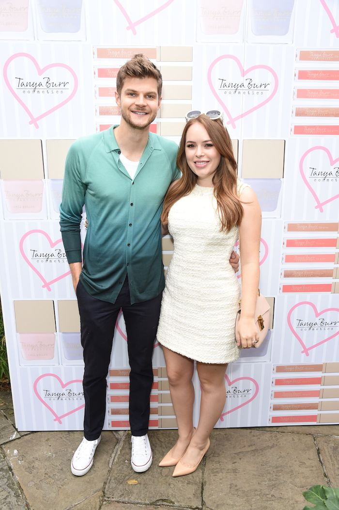 Jim & Tan at the relaunch of Tanya Burr Cosmetics