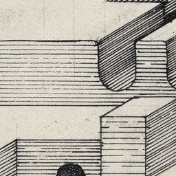 Walter Pichler. Underground Building, project, Isometric. 1963 | MoMA