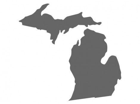 Michigan Stencil