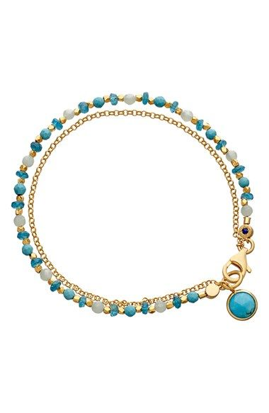 Women's Astley Clarke 'Biography' Beaded Bracelet - Blue