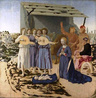 Nativity, 1470-75  Piero della Francesca (Italy, 1415/20 - 1492)