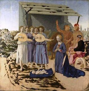 Nativity, 1470-75  Piero della Francesca (Italy, 1415/20 - 1492)