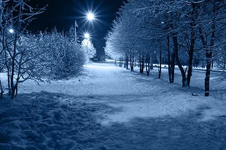 night landscape photography