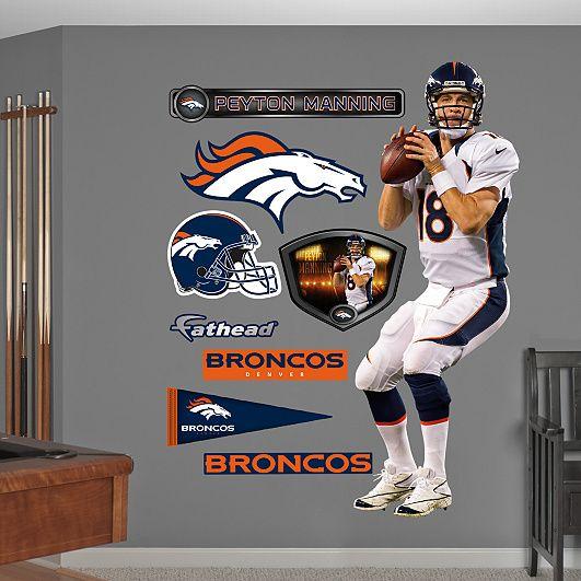 19 best images about ashton and karsons bedroom on for Denver broncos bedroom ideas