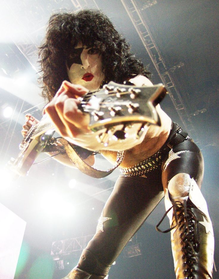 Paul Stanley of Kiss.