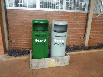 Cred UFU apoia coleta seletiva da UFU | FarolCom