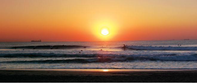 Umhlanga, South Africa. A beautiful beach area