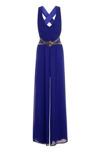 Ladies Little Mistress Royal Blue Jumpsuit