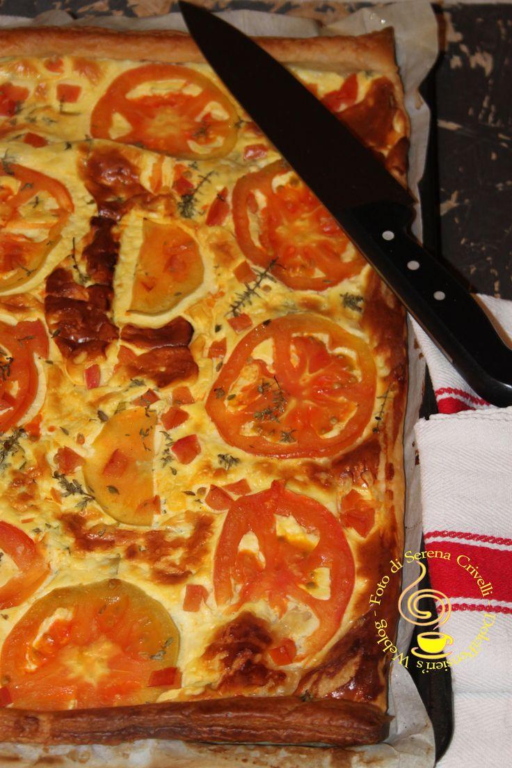 http://dolcipensieri.wordpress.com/2013/10/25/sfoglia-con-pomodori-caprino-e-basilico-di-dolcipensieri/
