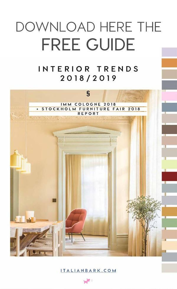 A Roundup Of The Interior Color Trends For 2019, As Seen At The Stockholm  Furniture