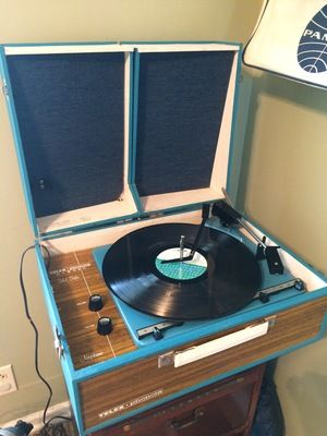 Vintage 1960s Telex Phonola Record Player For Sale