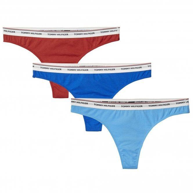 TOMMY HILFIGER X GIGI HADID Women/'s Red Briefs sizes XS S
