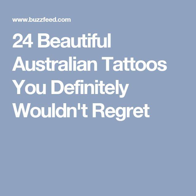 24 Beautiful Australian Tattoos You Definitely Wouldn't Regret