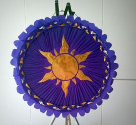 Piñata Sol Enredados - Tangled