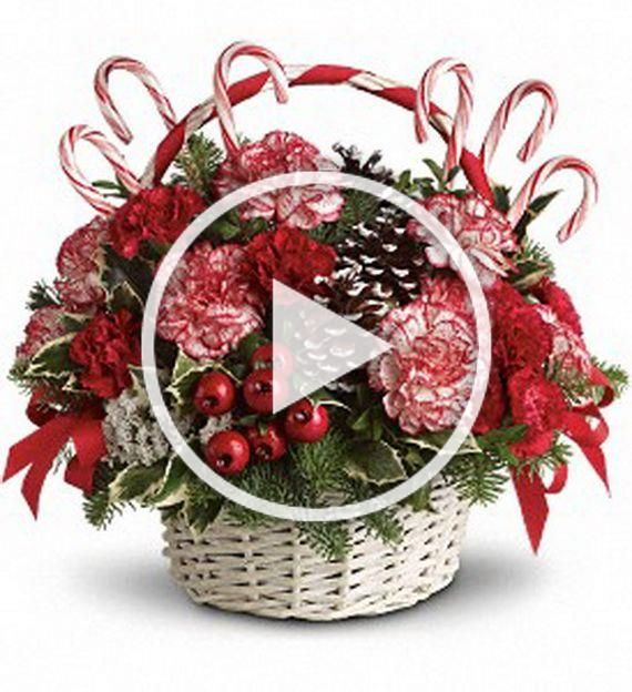 gift baskets ideas | Traditional Christmas Gift Basket ...