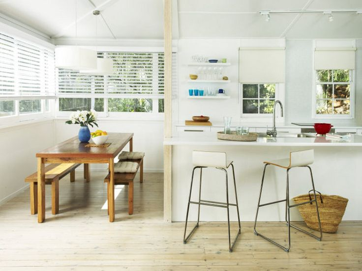 Knotty Pine white washed floors...one day you will be MINE!!!
