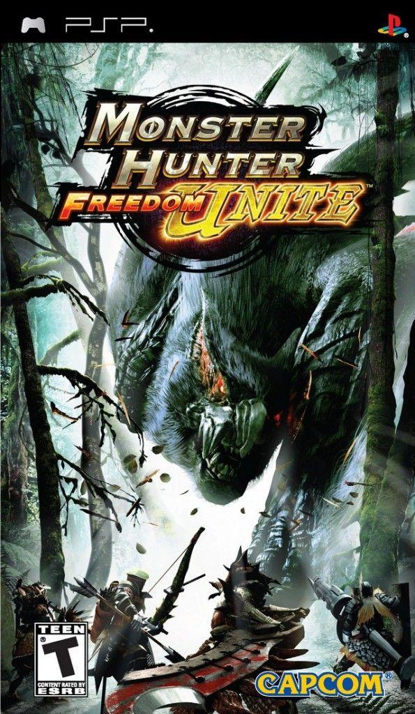imagen Monster Hunter Freedom Unite [PSP] [Multi5 Incl. Español]