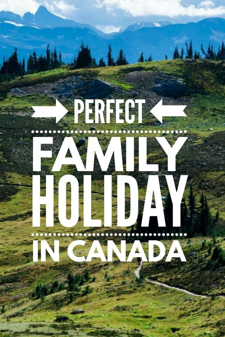 Family mountain holiday in Canada perfect for all ages.