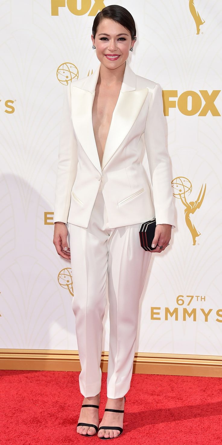 The 10 Best Dressed at the 2015 Emmys, According to InStyle Fashion News Director Eric Wilson - 9. Tatiana Maslany  - from InStyle.com