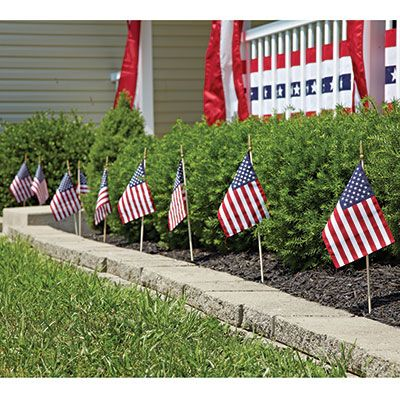 american flagpole and flag