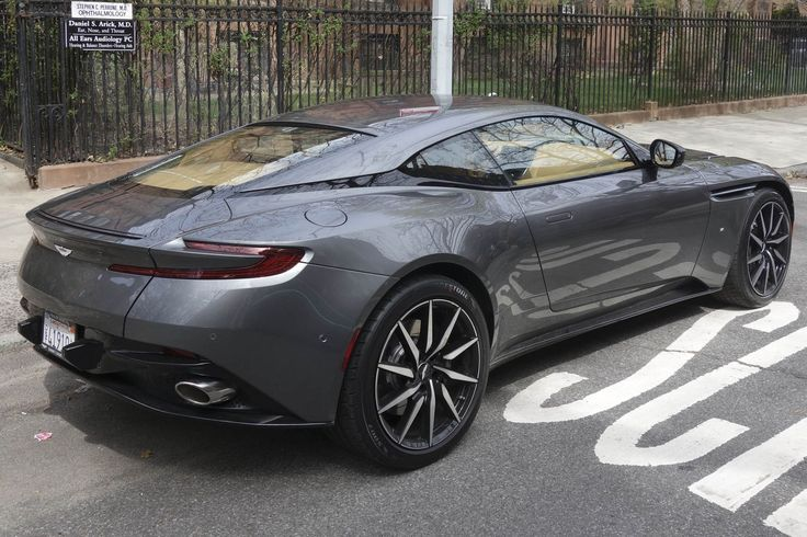 The 2017 Aston Martin DB11 combines unearthly allure with supernatural speed.