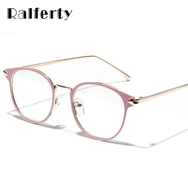 Big Deals $6.74, Buy Ralferty 2017 Vintage Eyeglass Women Frame Myopia Optical Eyewear Frames Glasses Clear spectacle oculos de grau feminino 3204