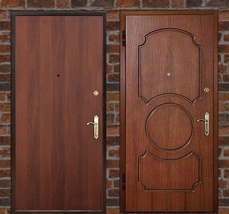 """Стальные двери """"МДФ"""""""