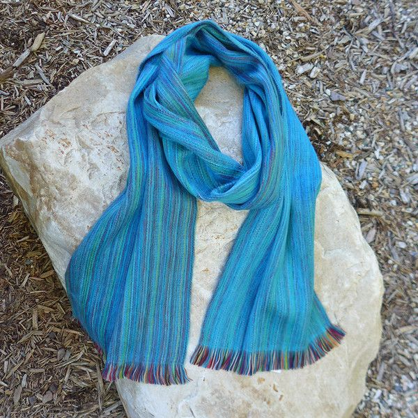 Ooh....this alpaca scarf is soft as silk!  And we have it in 7 colors!