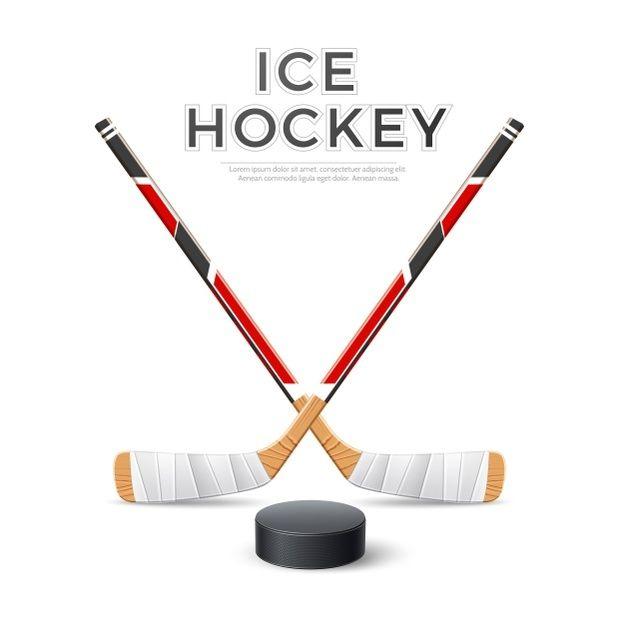 Palos Cruzados De Hockey Sobre Hielo Rea Premium Vector Freepik Vector Fondo Logo Invierno Madera Palos De Hockey Hockey Hockey Sobre Hielo