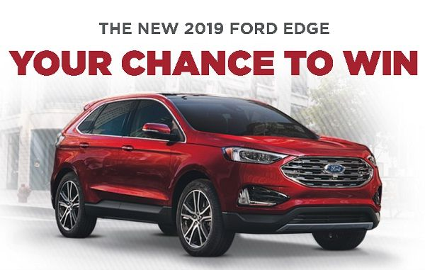 Win A Car Sweepstakes >> Drive Your Dream Car 2019 Edge Titanium Awd To Your Home For