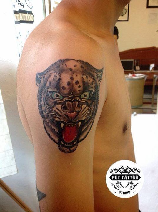 Put Tattoo Studio At Nakhonsawan Thailand  Thailandtattoo  Tiger Tattoo Contact us :083-823-9228 Facebook/puttattoo