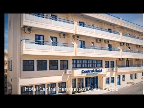 Hotel Central Hersonissos Creta, Grecia