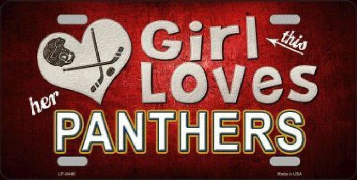 This Girl Loves Her Florida Panthers Hockey Team #FloridaPanthers