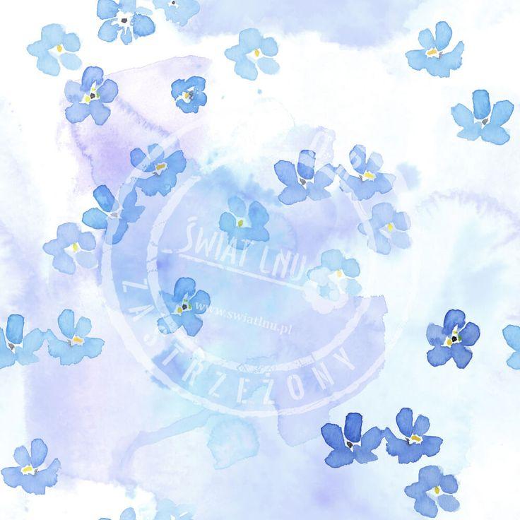 Kraina czarów to  magiczne wzory Pracowni Druku. Naturalne motywy: motyle, krople deszczu, drobne kwiaty lnu, niezapominajki to trendy na 2017 rok.    #pracowniadruku  #trendy2017