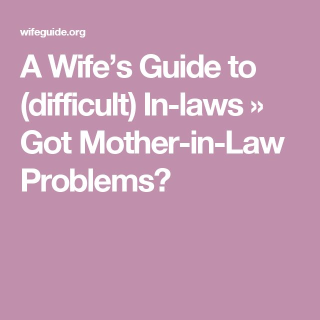 Manipulative mother in law problems-6669