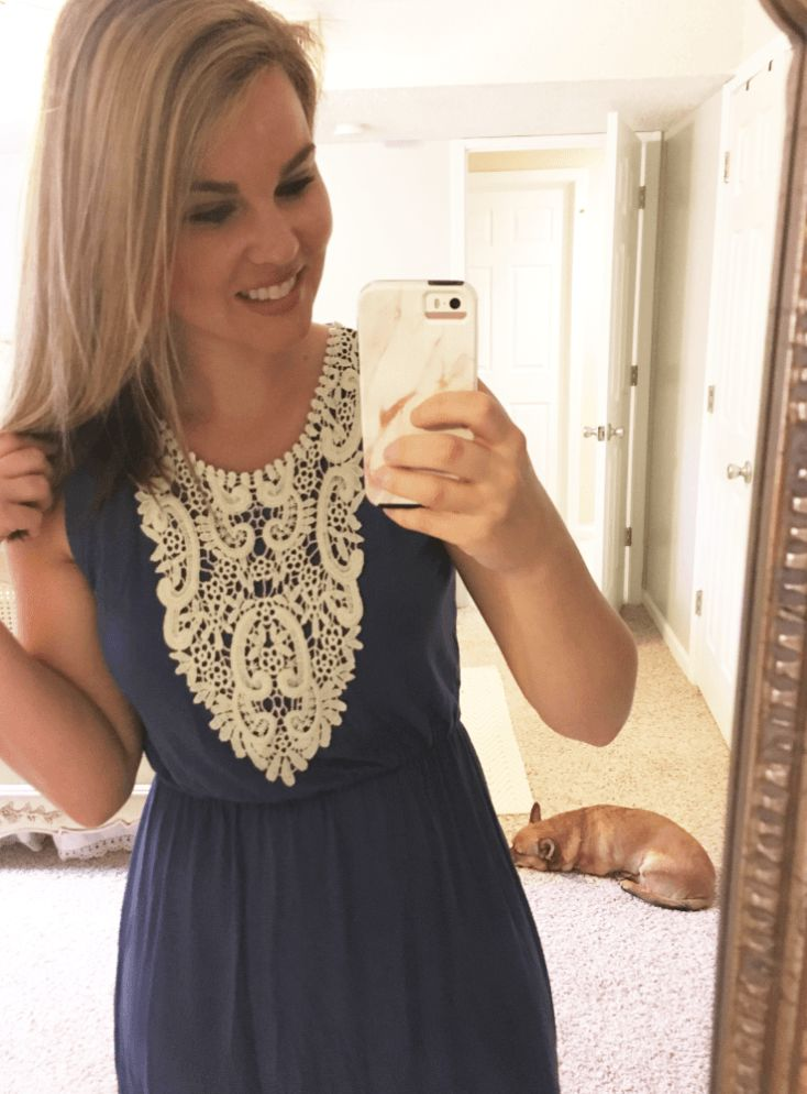 Whimsical September Stitch Fix Review April 2017: Colette Knit Dress