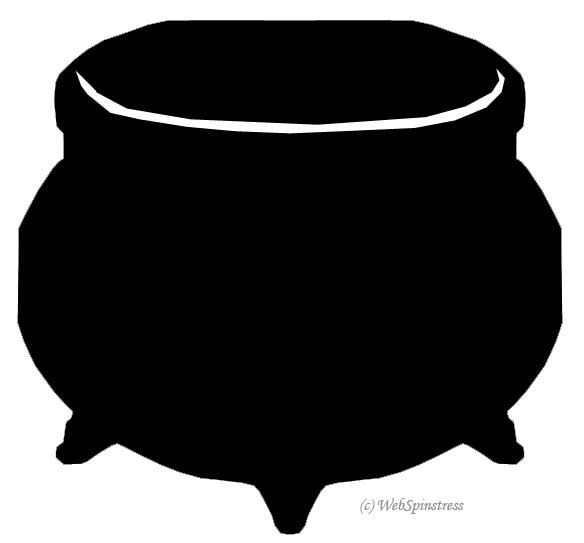 free halloween clipart witch cauldron - photo #20