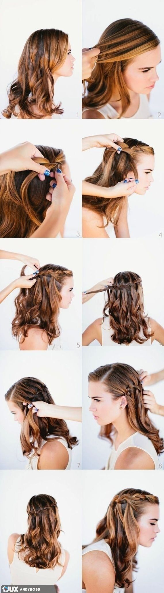 Simple Hairstyle Tutorial – Beauty