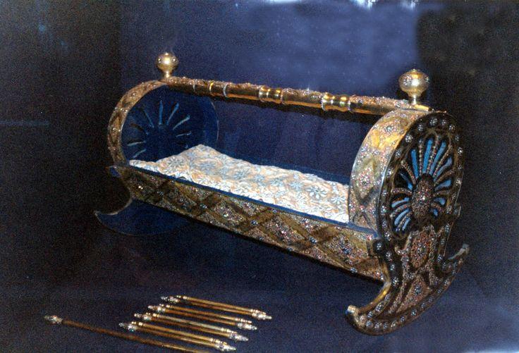 Berceau ottoman - Musée de Topkapi - Istanbul 1996