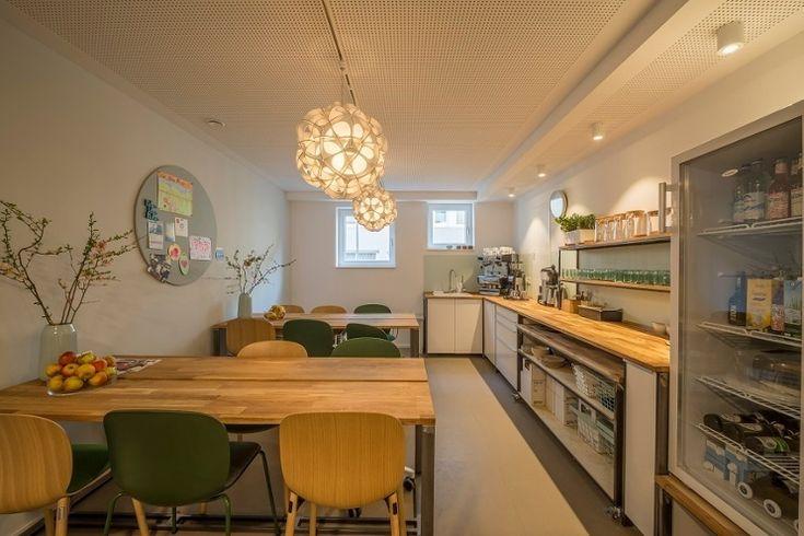 RBM Noor in a creative coworking space in Germany! Cowoki Coworking Plus #InspireGreatWork #Scandinavian #design