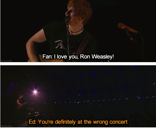 This is totally my favorite! ^_^ So perfect, lol. What makes it better is that Ed's video for Lego House has Rupert in it. xD