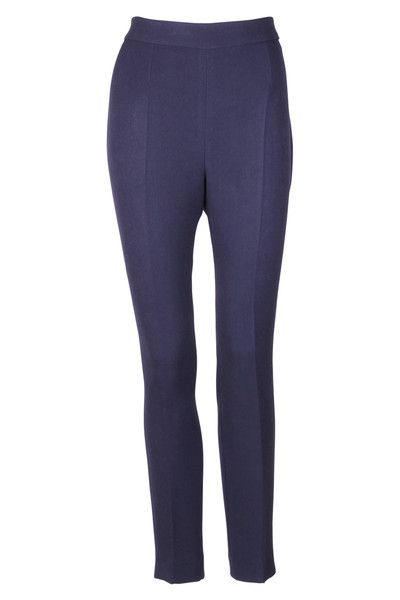 Navy blue cropped trouser by Vilagallo (style 22519) - buy online and get FREE UK DELIVERY for every order from Berties in Northampton!