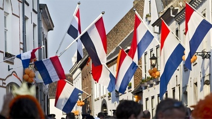 koninginnedag...the spirit and pride of the Dutch.  Love it!