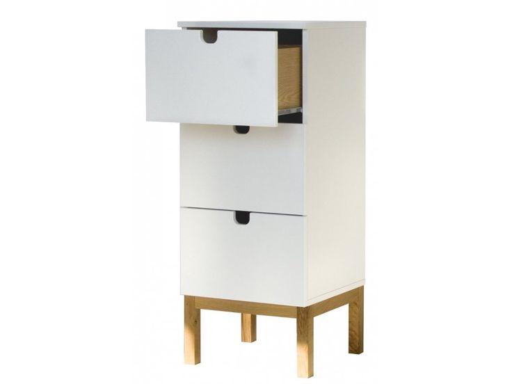 Komoda Kubus I — Komody Tenzo — sfmeble.pl  #scandinavian  #style  #interior  #homedesign #furniture #white